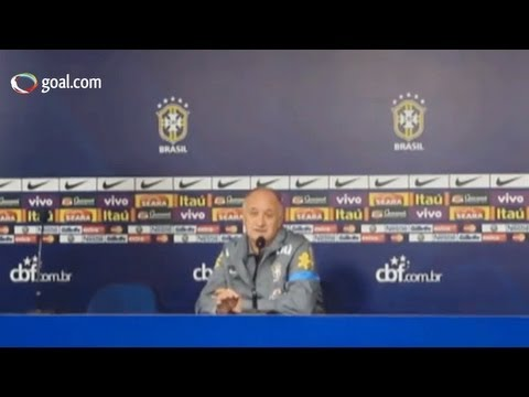 Brazil vs Chile - Scolari press conference