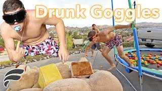 CRAZY HOMEMADE OBSTACLE COURSE!