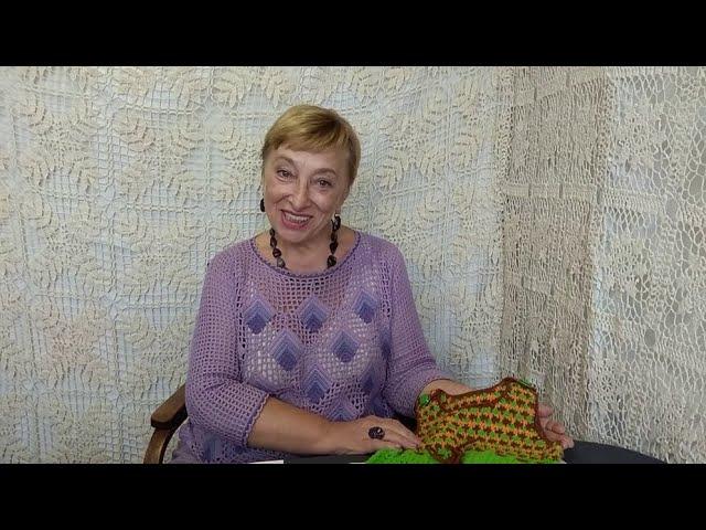 """Вязание крючком для детей от О.С. Литвиной. Комбинезон """"Кузнечик"""".  Схема и описание вязания."""