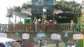 Haitian Kanaval Stand Decorations