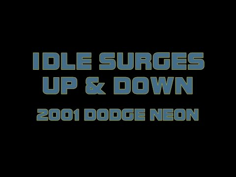 2001 Dodge Neon - How To Fix A Surging Idle