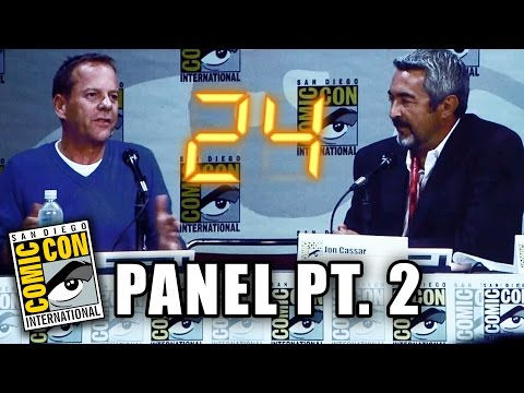 24 Comic-Con Panel 2014 - Part 2 (Kiefer Sutherland)