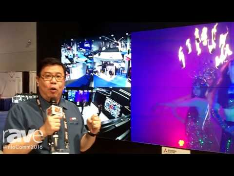 InfoComm 2016: Mitsubishi Intros VS-60HS12U Slim Cube Display