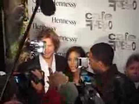 Halle Berry & Gabriel Aubry@The Cafe Fuego in NYC