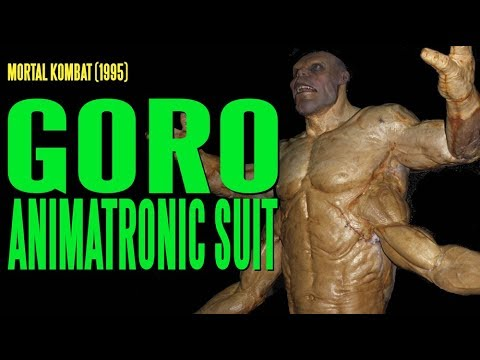 Mortal Kombat- goro Animatronic Suit With Lip Synch video
