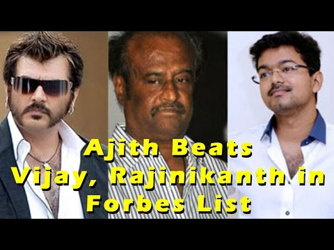 Thala Ajith Beats RajinikanthAnd Vijay To Become The Richest Tamil Celebrity!