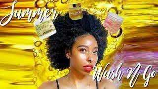 Summer Wash N Go | 3c/4a Natural Hair
