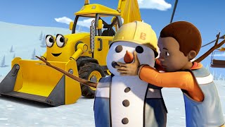 Bob the Builder US 🛠⭐Scoops Snow Meltdown 🛠⭐MEGA Compilation! 🛠New Episodes | Videos For Kids