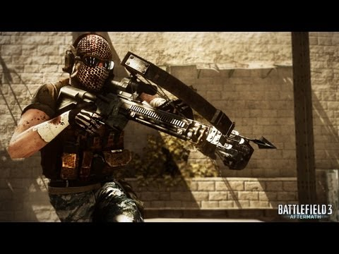 Battlefield 3: Aftermath Launch Trailer