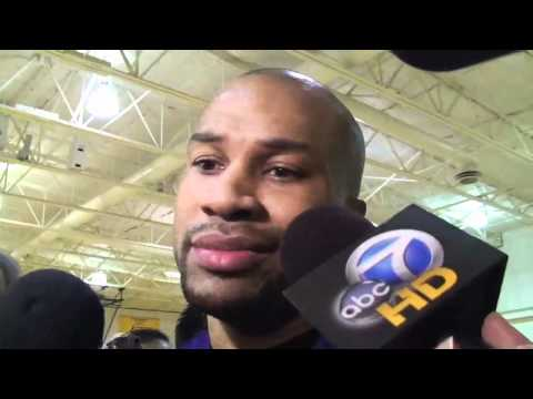 Lakers guard Derek Fisher on New Orleans Hornets