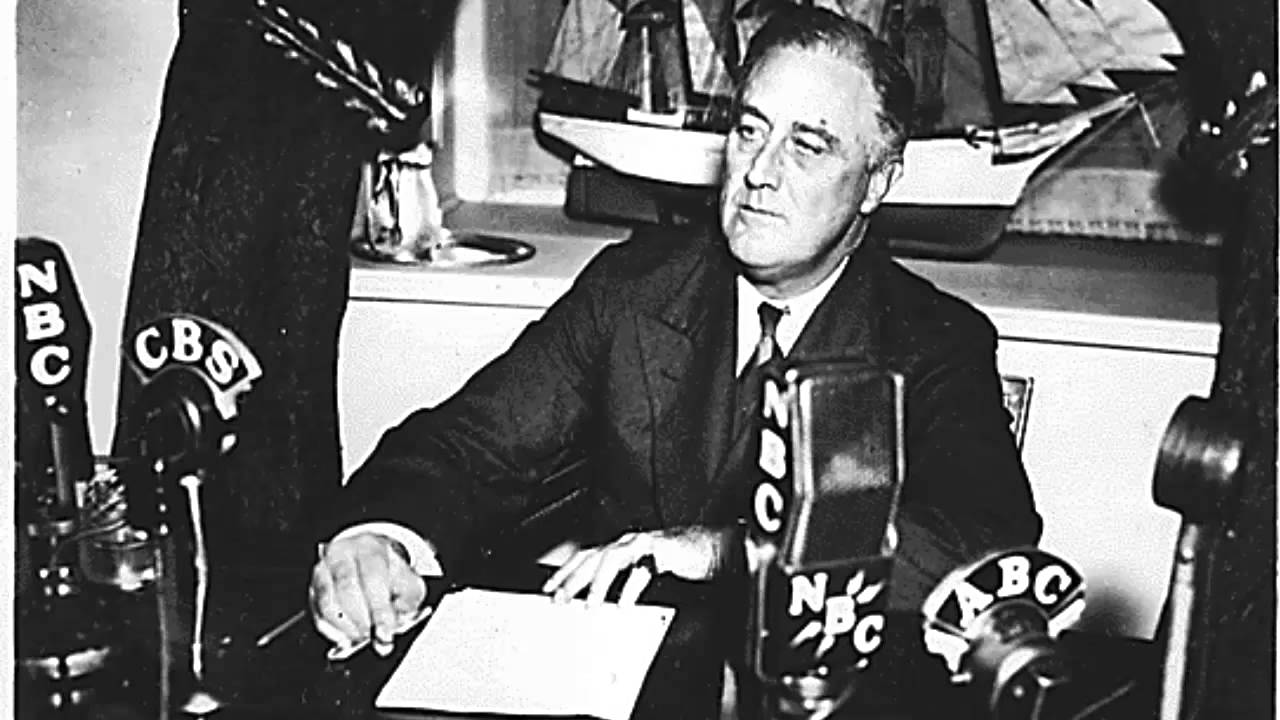 the fire side chat report Fireside chat analysis for franklin d roosevelt this fantastic, simple worksheet has students reading an abbreviated version of president roosevelt's first fireside.