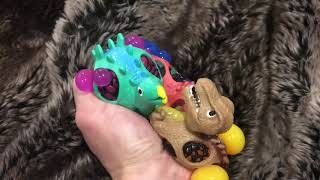 Playing With Dinosaurs. Stress Ball Dinos