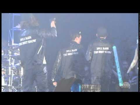 110814 2011' Rain The Best Show @ Busan  Encore With Jang Keun Suk