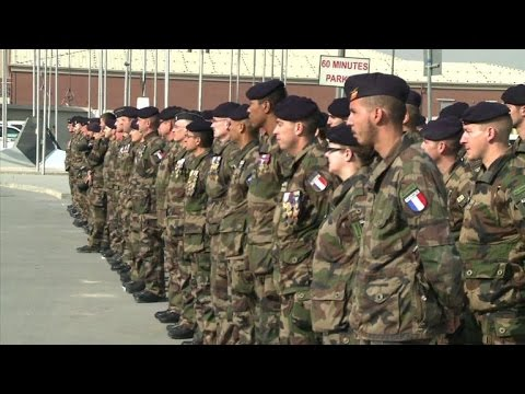 French troops mark end of their deployment in Afghanistan