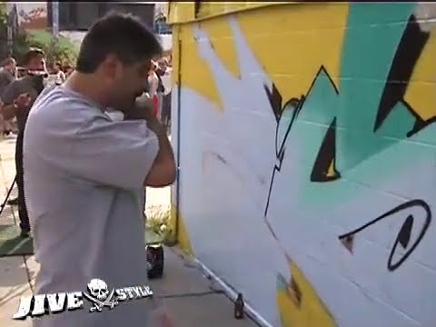SEEN, CAN2, COPE2 & ZEBSTER - WALLSTREET GRAFFITI MEETING