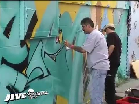 SEEN, CAN2, COPE2 & ZEBSTER - WALLSTREET GRAFFITI MEETING Video