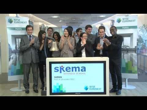 Bienvenue aux étudiants de SKEMA chez NYSE Euronext à Paris