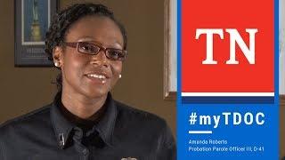 MyTDOC: Probation & Parole Officer, Amanda Roberts