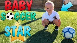 Amazing World's Youngest Soccer Player!!