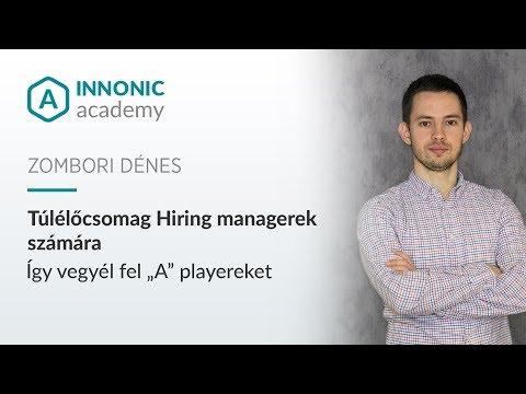 Túlélőcsomag Hiring managerek számára - Zombori Dénes