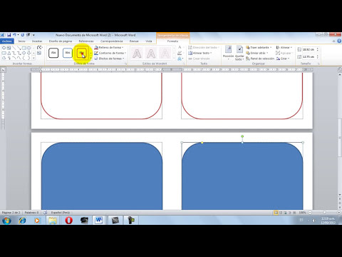 video tutorial de como hacer un díptico en microsoft word