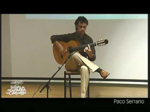 Paco Serrano. Vidalita. Festival de la Guitarra de Córdoba 2009
