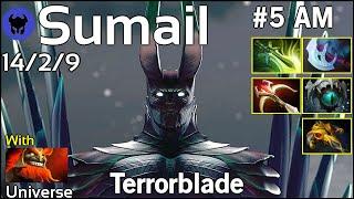 Sumail [EG] plays Terrorblade!!! Dota 2 7.21