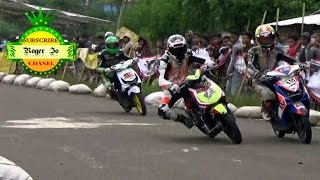 FINAL SERU Matic 150 CC TU OPEN ; DUEL SENGIT 156 Asep B VS 272 Rendy S ; Road Race Karawang SERI 4