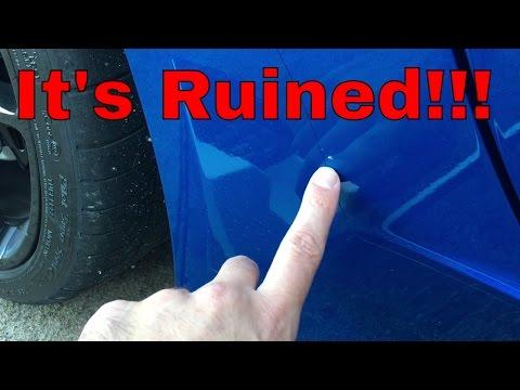 Paint Chip Repair with Dr. Colorchip!!! - C7 Corvette Laguna Blue