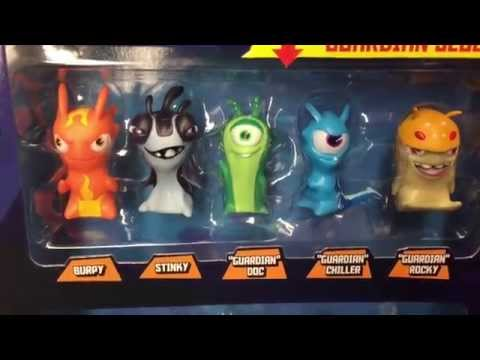 SLUGTERRA 10 Pack Slug Figures with Exclusive