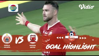 Persija Jakarta (4) vs Madura United (0) | Goal Highlights | Shopee Liga 1