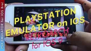 PSX Emulator for IOS iPhone Playstations Games on iPhone iPad iPod RetroArch