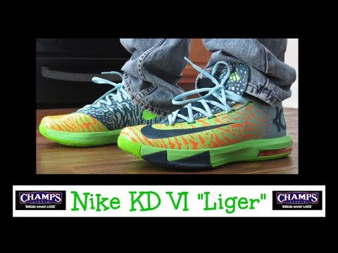 nike kd vi 6 quotligerquot review on feet thanks again
