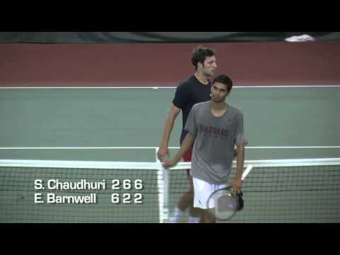 Harvard Men's Tennis vs. Samford - NCAA Highlights