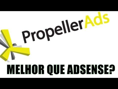 🔴 Propeller ads - Como se cadastrar e faturar ( melhor que Adsense?)