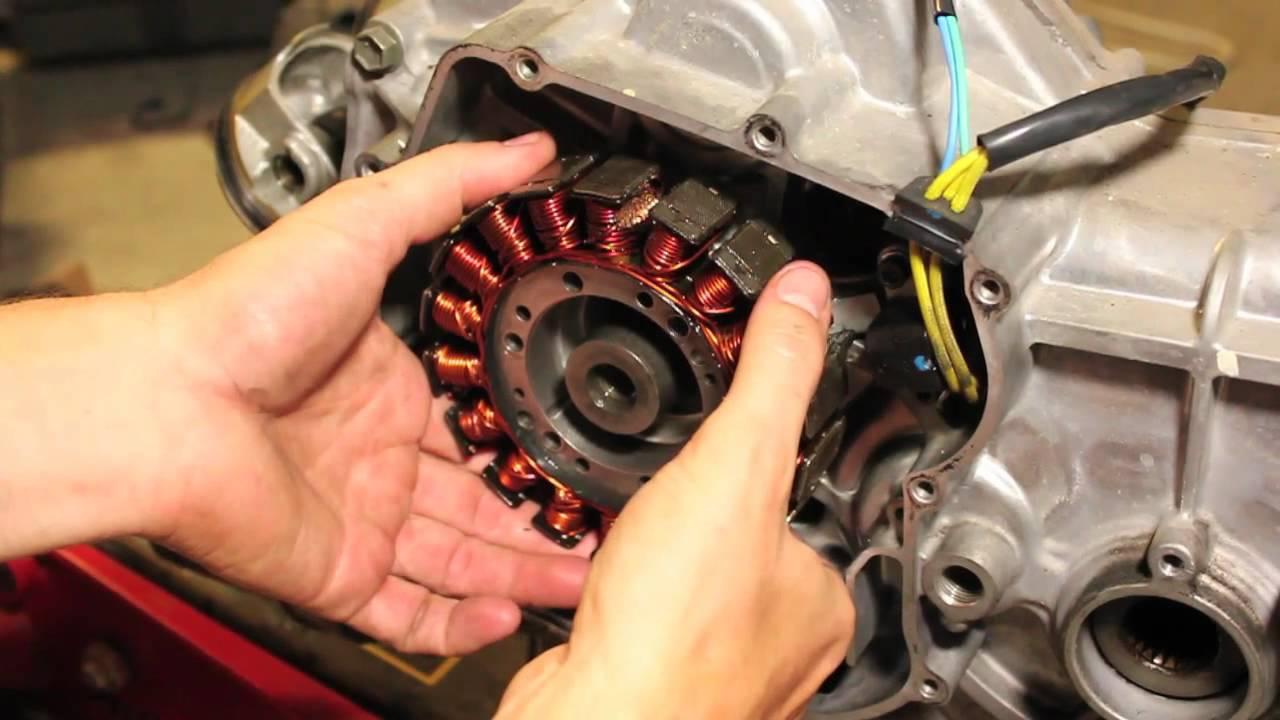 Suzuki Stator Repair