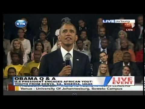 President Barrack Obama responds why he did not visit Kenya