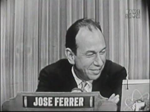 What's My Line? - Jose Ferrer; Betty White [panel] (Jun 26, 1955)