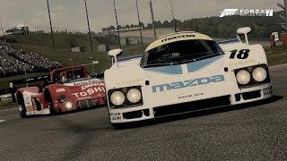 Forza Motorsports 7-Early Prototype Racers (Mazda #18 Mazdaspeed & #55 Mazda 787B '91)
