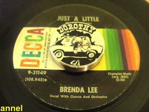 Brenda Lee - Just A Little