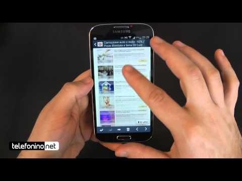 Samsung Galaxy S4 videoreview da Telefonino.net