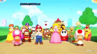 Super Mario Party Minigames (Baby Learning Videos for Babies to Watch)