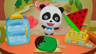 Little Panda made a lot of Ice Cream/ Fun Ice Cream games for kids