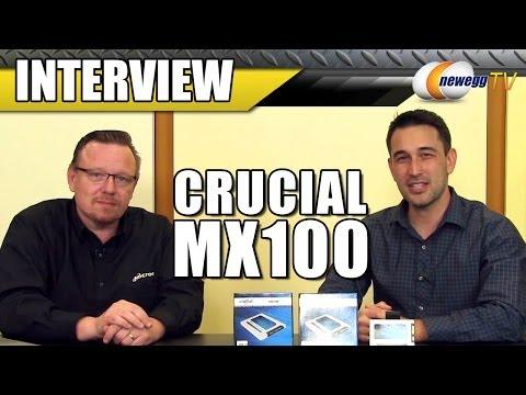 Crucial MX 100 Interview - Newegg TV