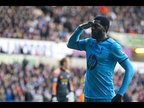 Emmanuel Adebayor's 42 Goals For Tottenham