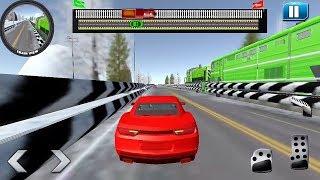 Car vs Train - Racing Game || Car Games || Train Games || #Car Vs Train Android Gameplay