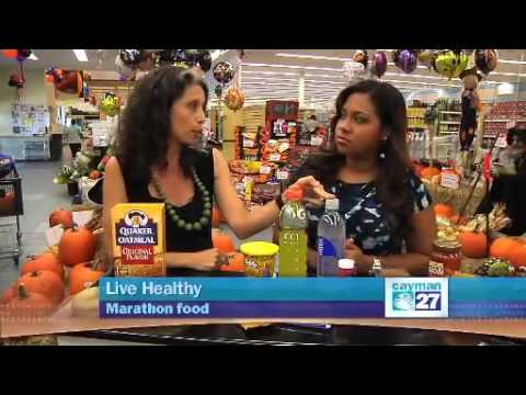Live Healthy: Marathon food