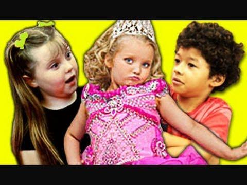 KIDS REACT TO HONEY BOO BOO