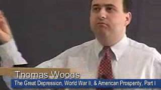 The Great Depression, WWII, and American Prosperity - Part 1 [Lecture 5 of 10] Thomas E. Woods, Jr.