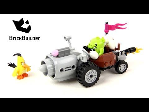 Lego Angry Birds 75821 Piggy Car Escape - Lego Speed Build